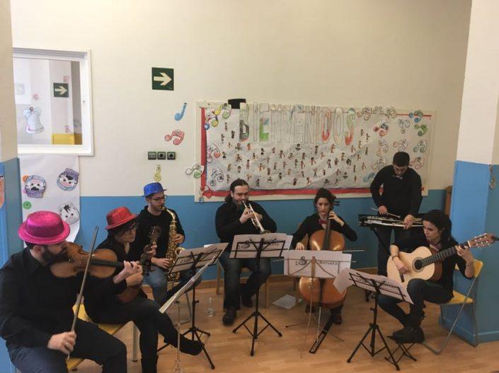 Concierto de Navidad academia sonata